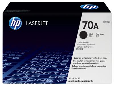HP 70A Black Original LaserJet Toner Cartridge
