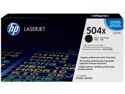 HP 504X High Yield Black Original LaserJet Toner Cartridge