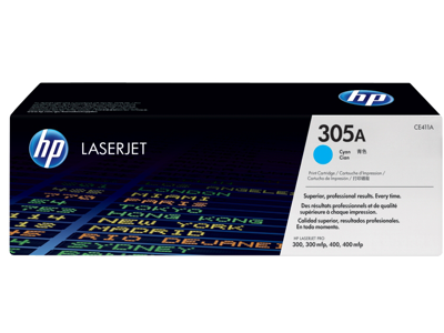 HP 305A Cyan Original LaserJet Toner Cartridge