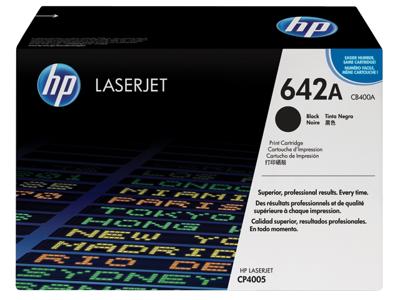 HP 642A Black Original LaserJet Toner Cartridge