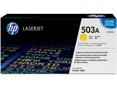 HP 503A Yellow Original LaserJet Toner Cartridge