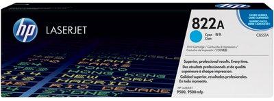 HP 822A Cyan Original LaserJet Toner Cartridge