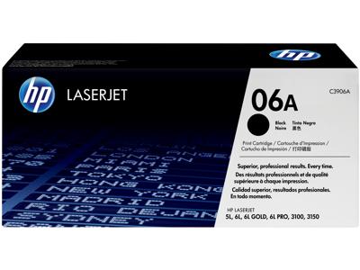 HP 06A Black Original LaserJet Toner Cartridge