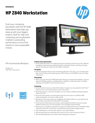 HP Z840 Workstation Datasheet (English AMS))v2