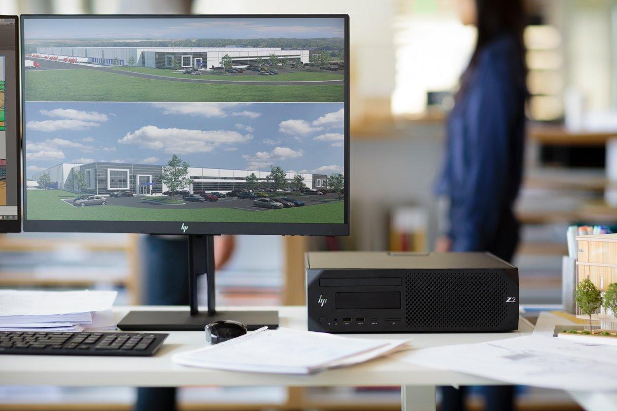 HP Z2 G4 Workstation - 1 x Intel Core i7 (8th Gen) i7-8700K Hexa-core (6  Core) 3 70 GHz - 8 GB DDR4 SDRAMNVIDIA Quadro P620 2 GB Graphics - Windows  10