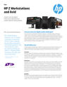 HP Z Workstations and Avid
