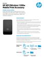 HP NFC/Wireless 1200w Mobile Print Accessory