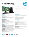 HP 251-a11 Desktop
