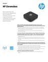 HP Chromebox - Datasheet