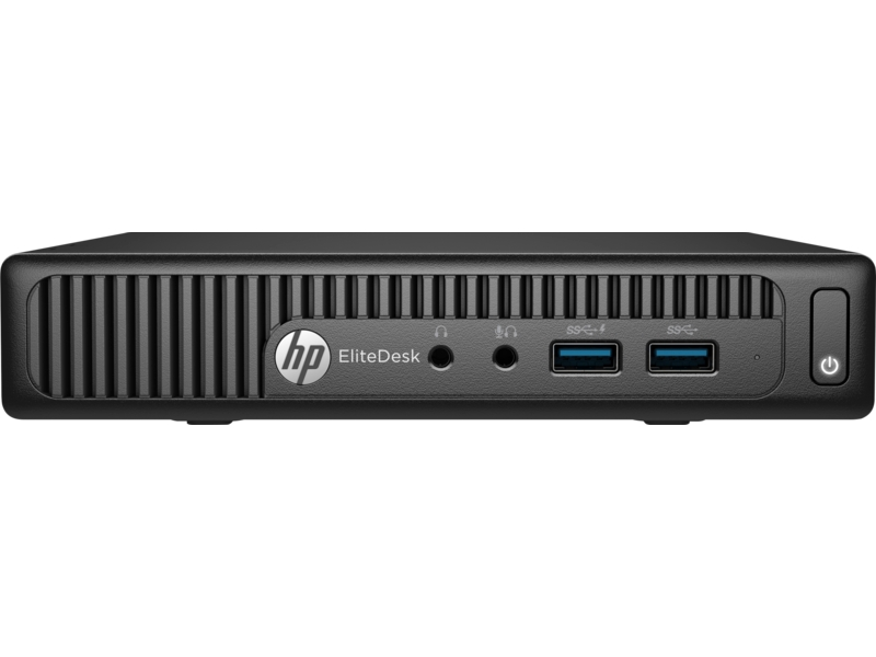HP EliteDesk 705 G3 - mini desktop - A6 PRO-9500E 3 GHz - 8 GB - 256 GB - US