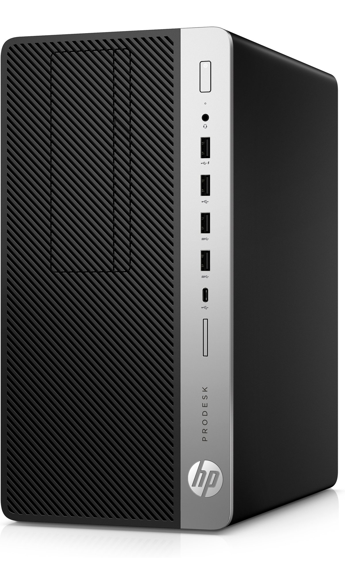 slide 3 of 3,show larger image, hp prodesk 600 g4 microtower pc