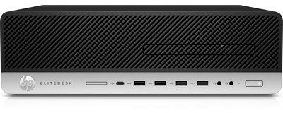 HP EliteDesk 800 G4 - SFF - Core i5 8500 3 GHz - 8 GB - 256 GB - US