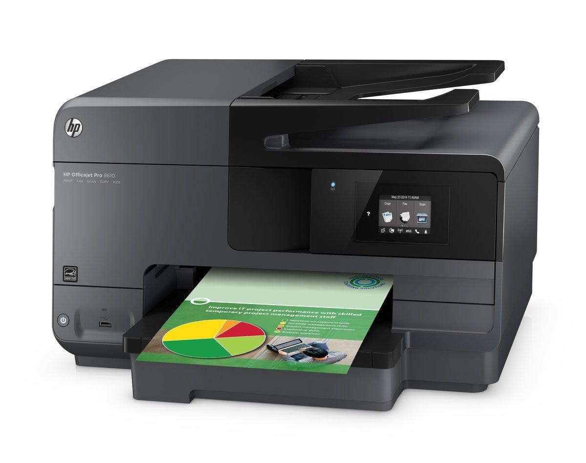 HP Officejet Pro 8610 (A7F64A) Duplex 4800 dpi x 1200 dpi USB / Ethernet /  Wireless Color Thermal Inkjet MFC Printer - Newegg.com