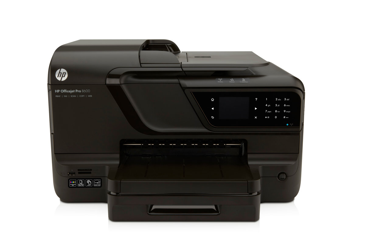 HP Officejet Pro 8600 e All In One Printer Copier Scanner Fax by Office  Depot & OfficeMax