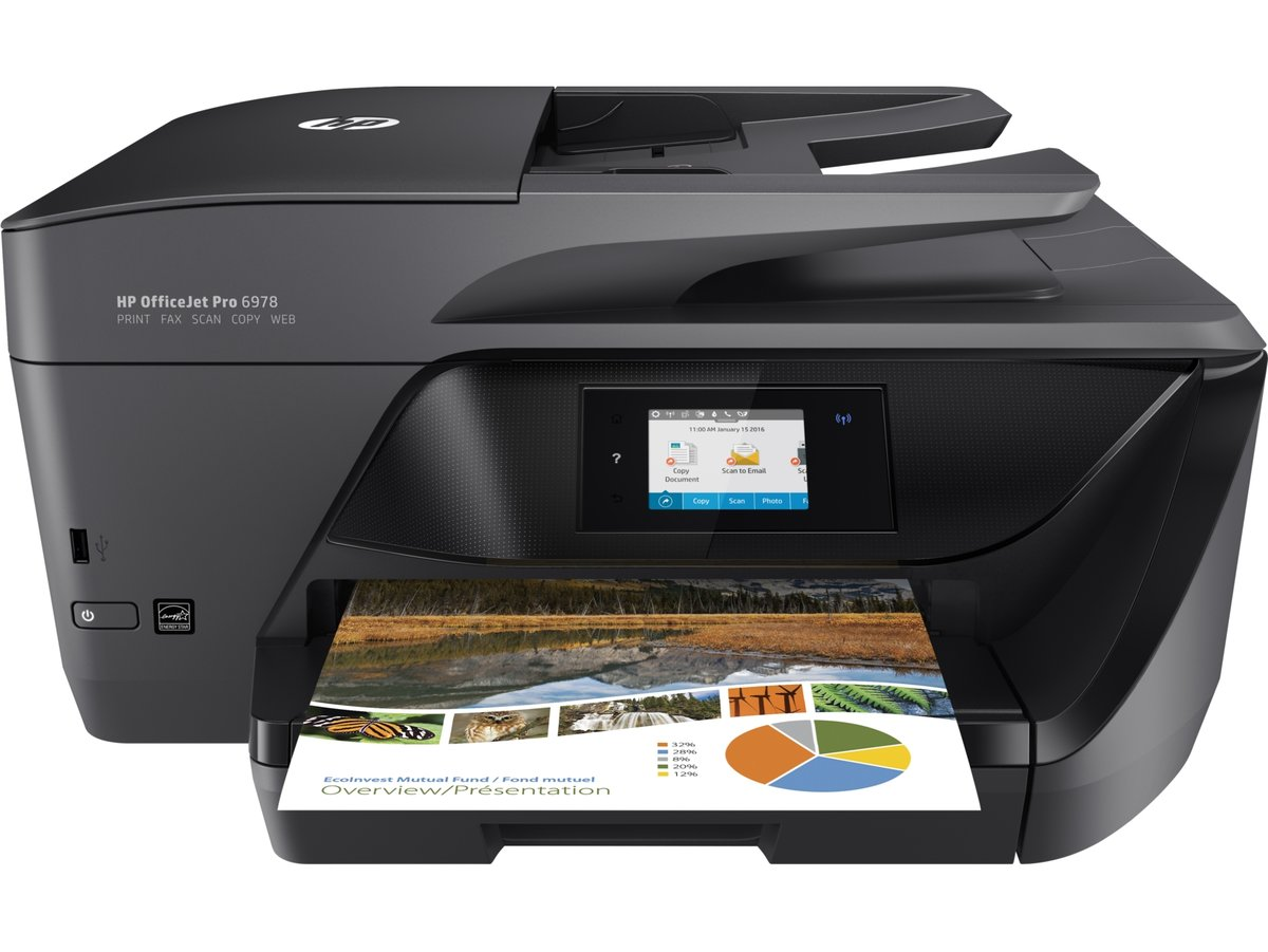 Hp officejet pro 6978 colour all in one printer t0f29a#b1h staples
