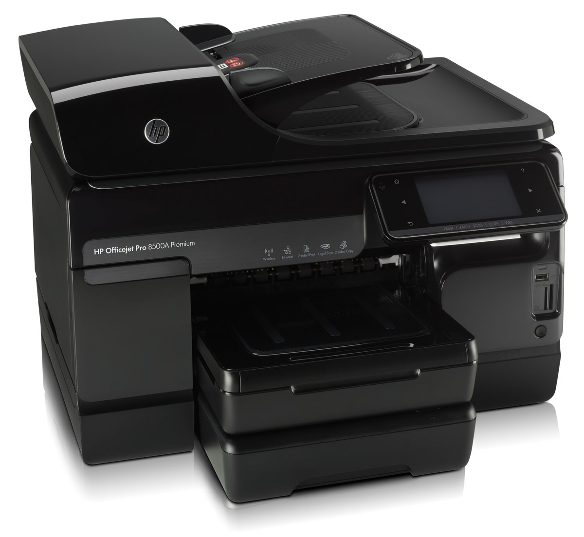 HP Officejet Pro 8500A Premium ePrint All In One Printer Copier Scanner Fax  by Office Depot & OfficeMax