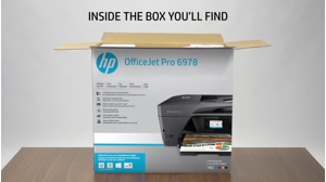 HP Officejet Pro 6970 All-in-Onemultifunction printer - colour