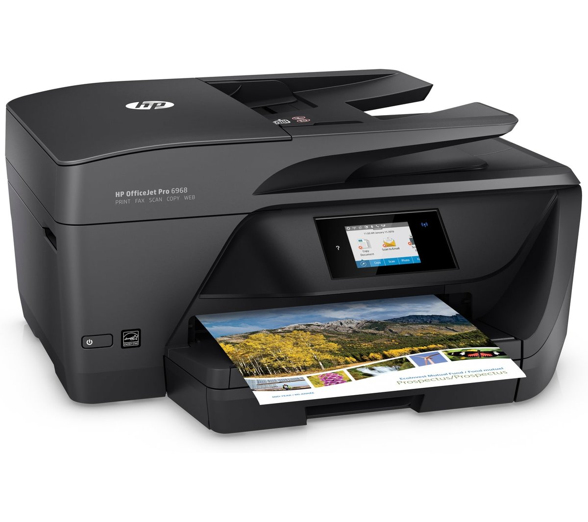 Hp Officejet Pro 6968 All In One Inkjet Printer Staples