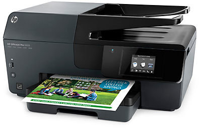 Hp Officejet Pro 6968 All In One Wireless Printer With Mobile