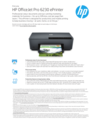 APJ Datasheet for HP Officejet Pro 6230 ePrinter (English) (English)