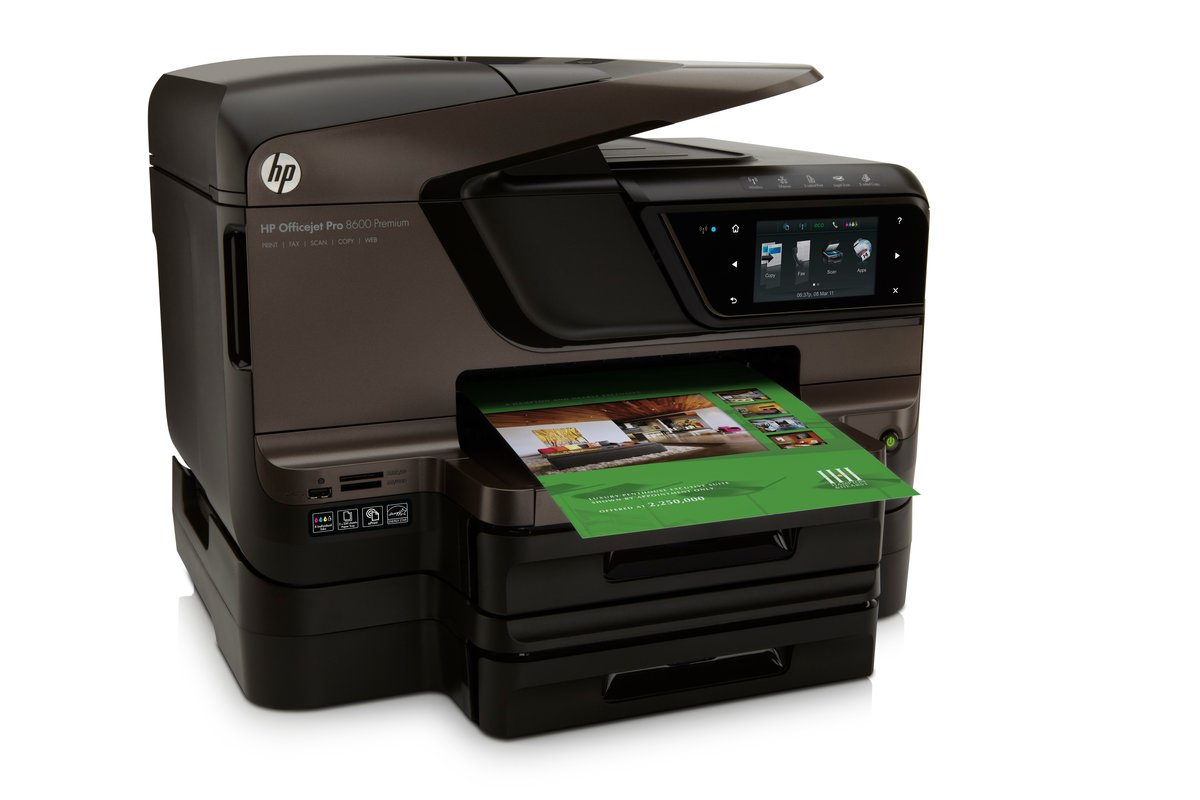 HP Officejet Pro 8600 Premium e All In One Printer Copier Scanner Fax by  Office Depot & OfficeMax