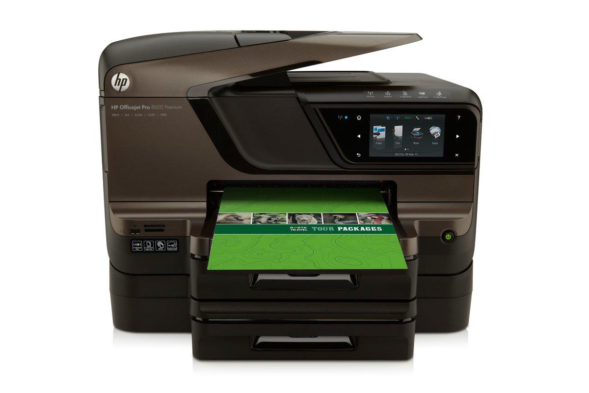 hp officejet pro 8600 premium e all in one printer copier scanner rh officedepot com HP 8600 Parts List HP 8600 User Manual Serial