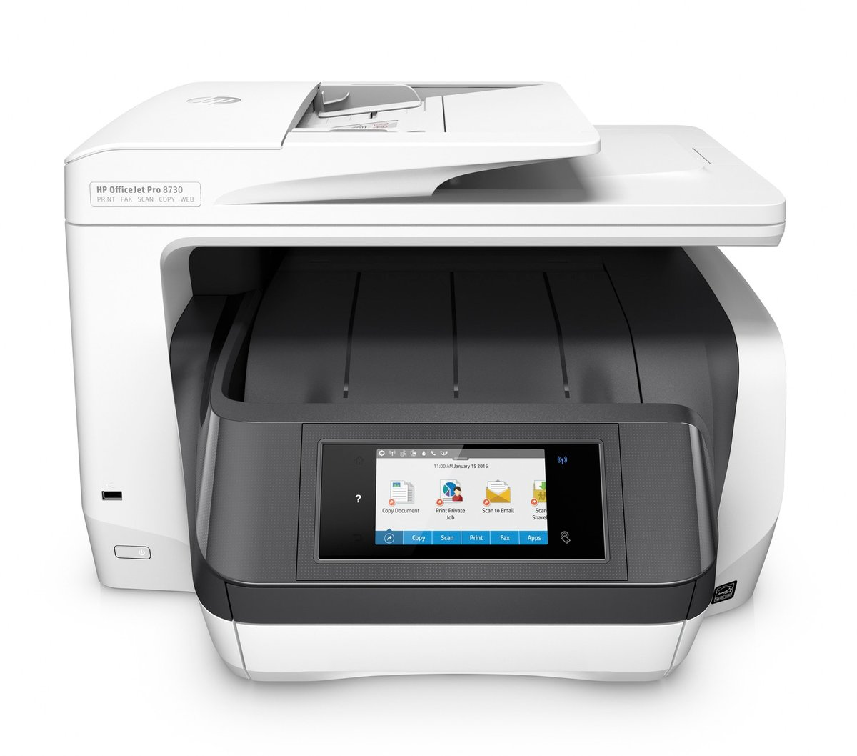 HP OfficeJet Pro 8730 Wireless All in One Printer with Mobile ...