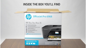 HP Officejet Pro 6968 All-in-One - multifunction printer - color