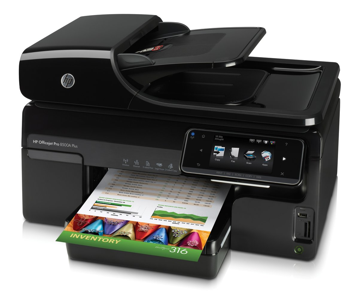 HP Officejet Pro 8500A Plus ePrint All In One Printer Copier Scanner Fax by  Office Depot & OfficeMax