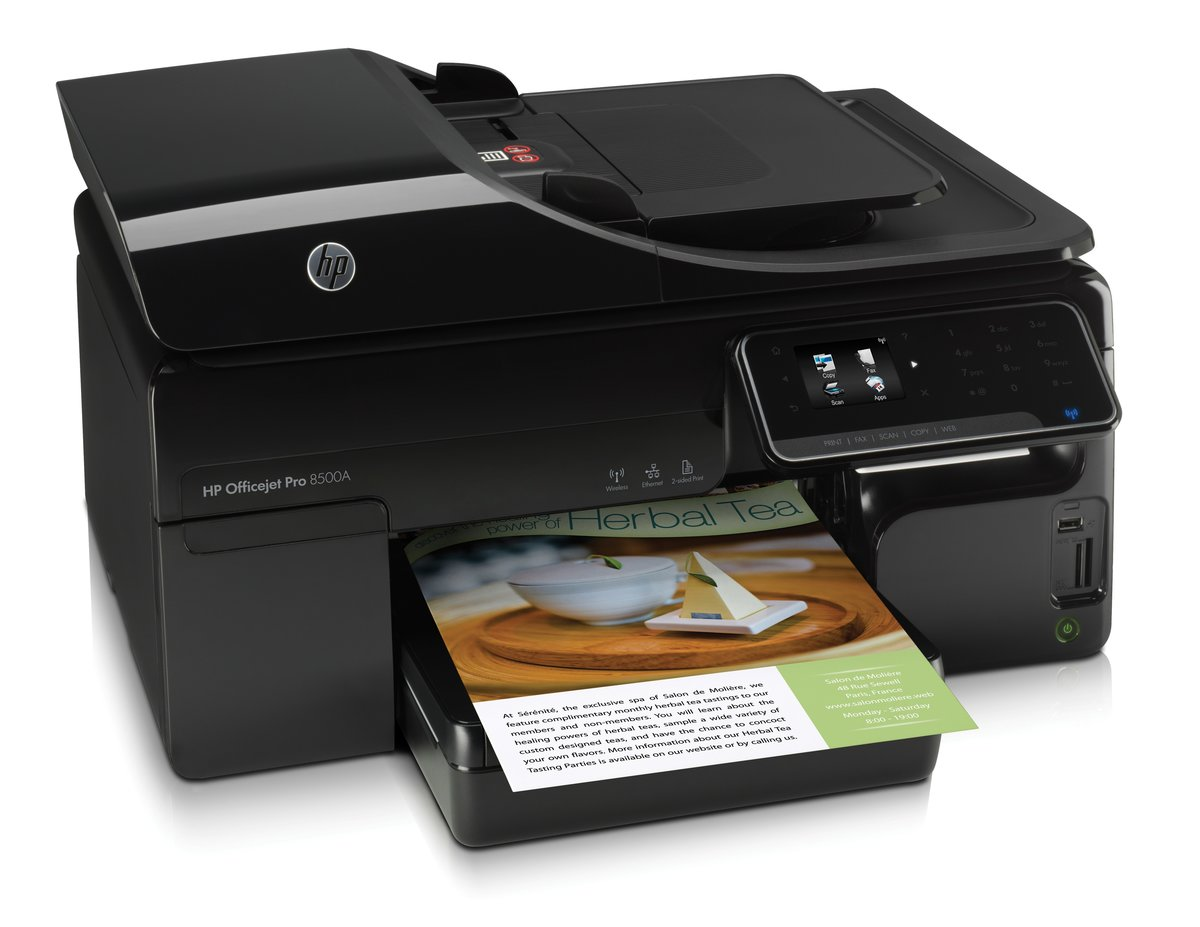 HP Officejet Pro 8500A ePrint All In One Printer Copier Scanner Fax by  Office Depot & OfficeMax