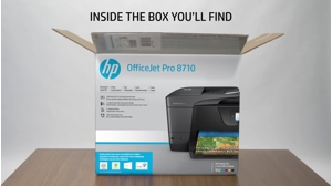 Hp Officejet Pro 8710 All In One Multifunction Printer Color