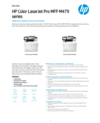 HP Color LaserJet Pro MFP M479 series (Valid for CEE TURKEY UAE & KSA)