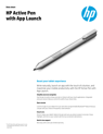 HP Active Pen with App Launch (T4Z24UT#ABA) | Staples
