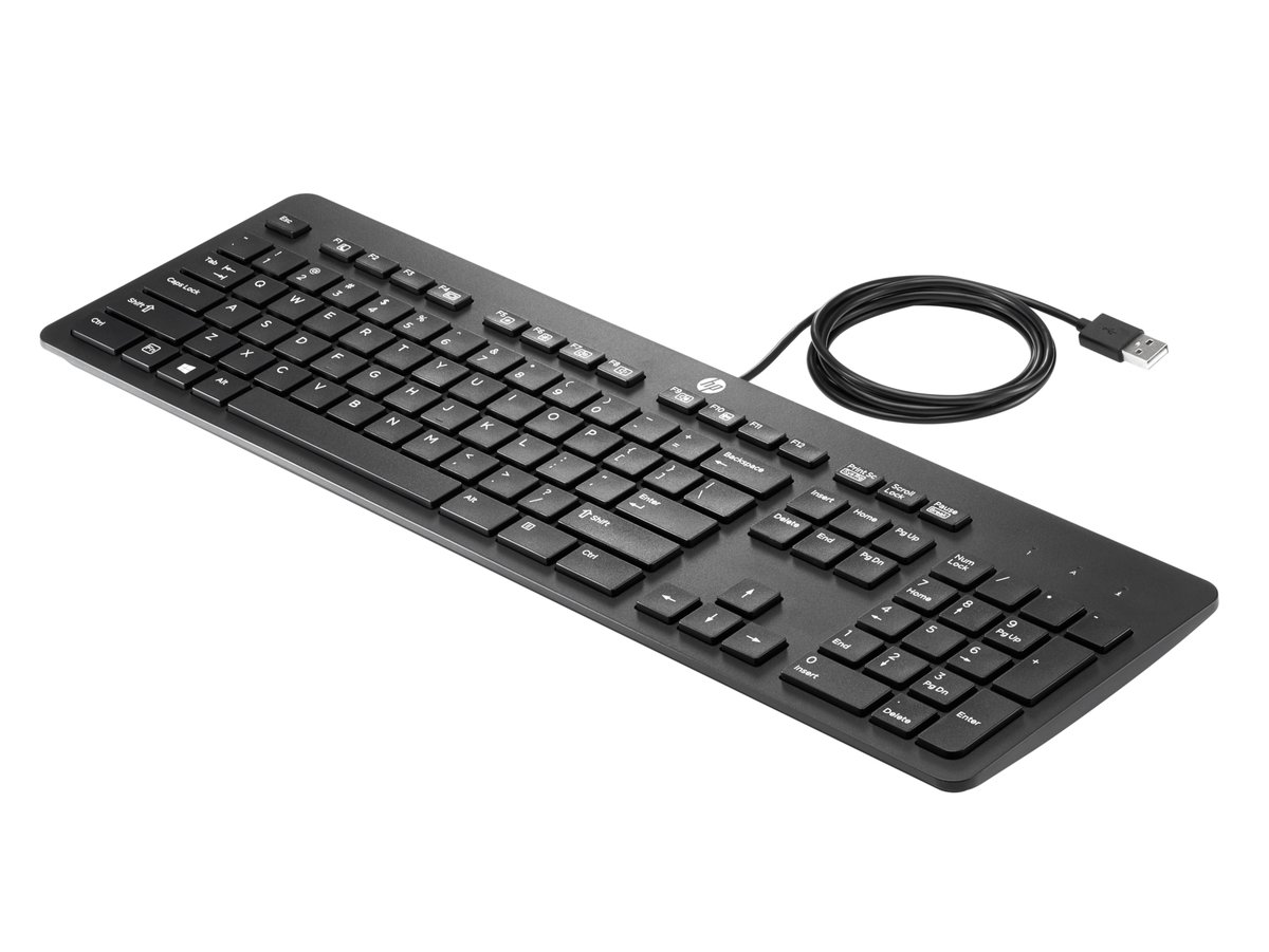 Product Hp Business Slim Keyboard Us Logitech K120 Usb Original Slide 1 Of 1show Larger Image Bulk