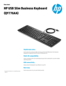 WW ACS - HP USB Slim Business Keyboard - 10/18 - EN (English)