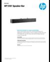 WW OPS - HP S101 Speaker Bar - 3/19 - EN (English)
