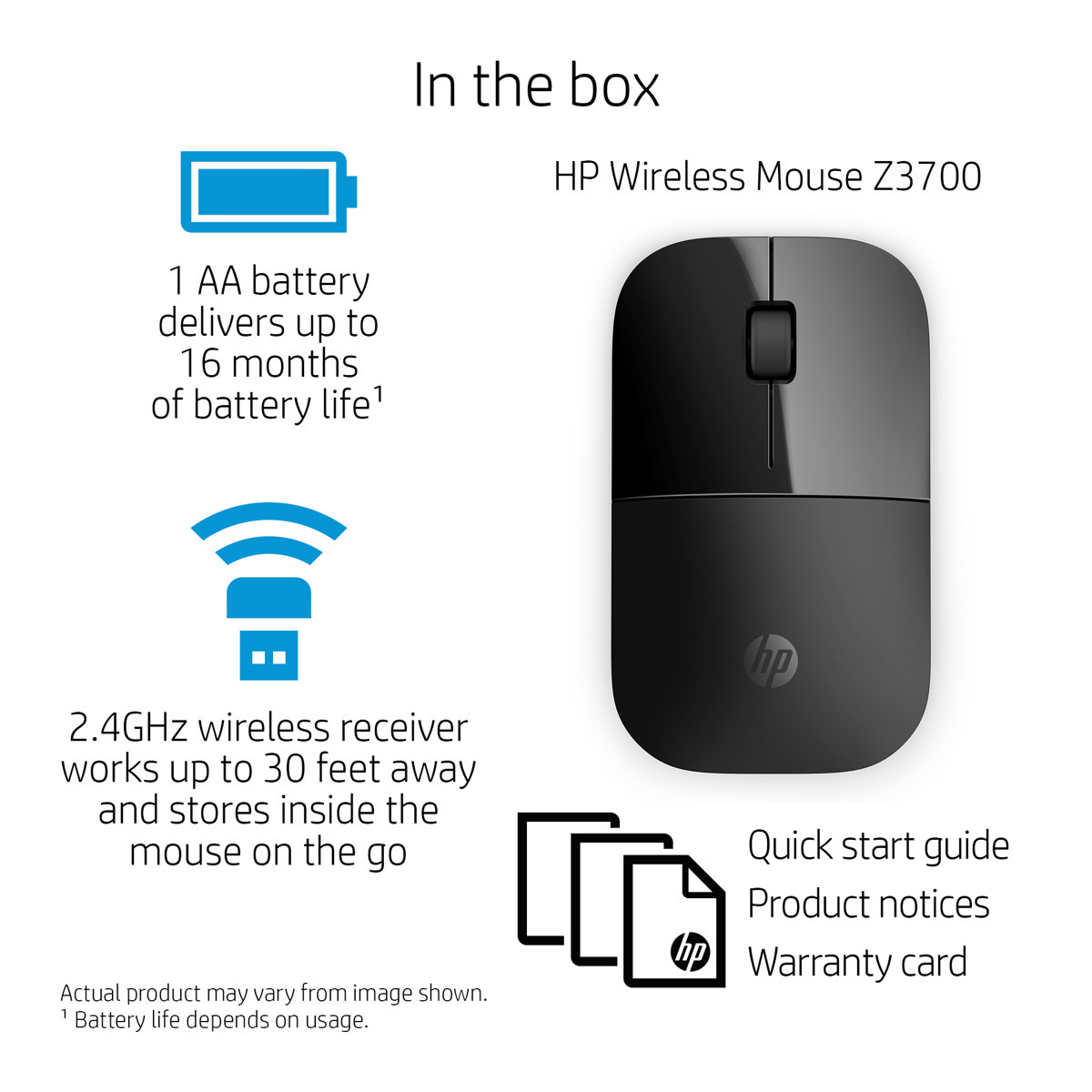 Hp Z3700 Red Wireless Mouse V0l82aaabl Computer Diagram