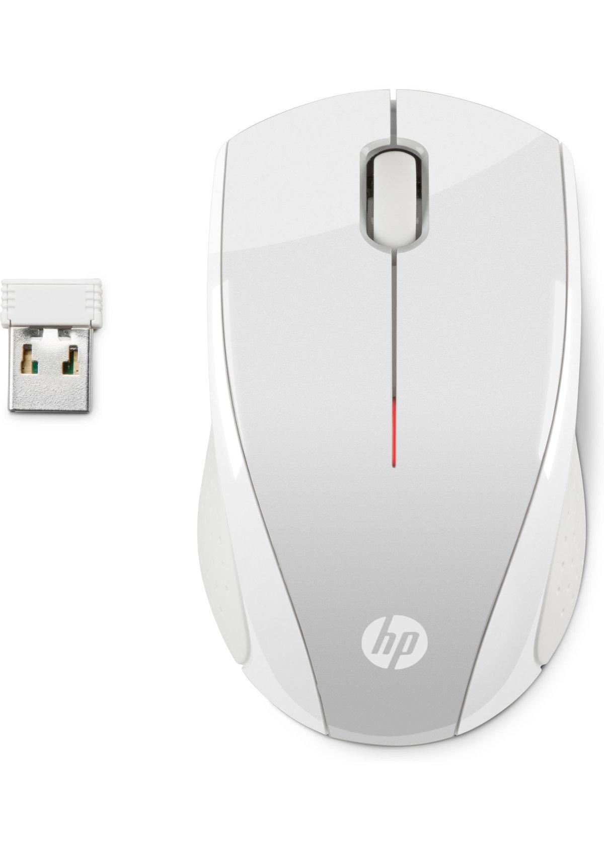 HP X3000 - Mus - optisk - 3 knappar - trådlös - 2.4 GHz - trådlös USB- e344b2440ffb4