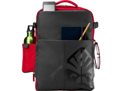 574682684cf2f HP OMEN by HP Gaming - 17.3in Notebook Backpack - Red - 4YJ80AA#ABB ...