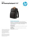 HP Powerup Backpack 17.3""