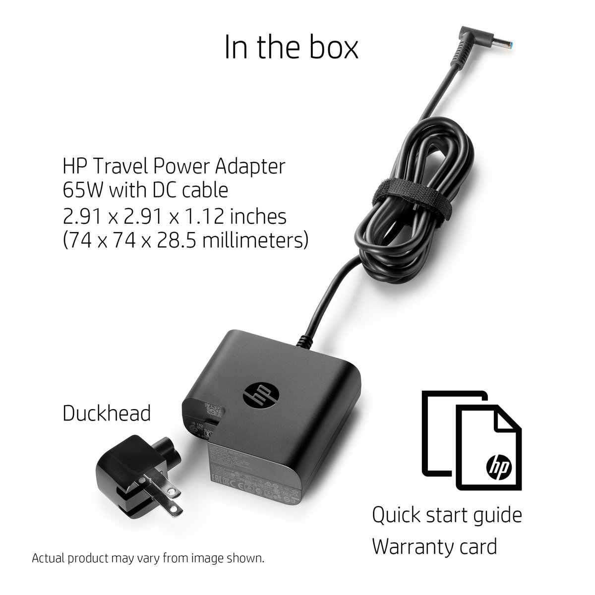 Slide 1 Of 3show Larger Image Hp Travel Power Adapter 65w