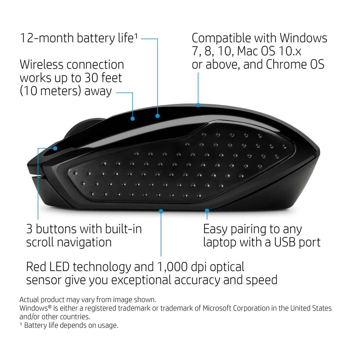 Hp Wireless Mouse 200 Xcite Kuwait R One