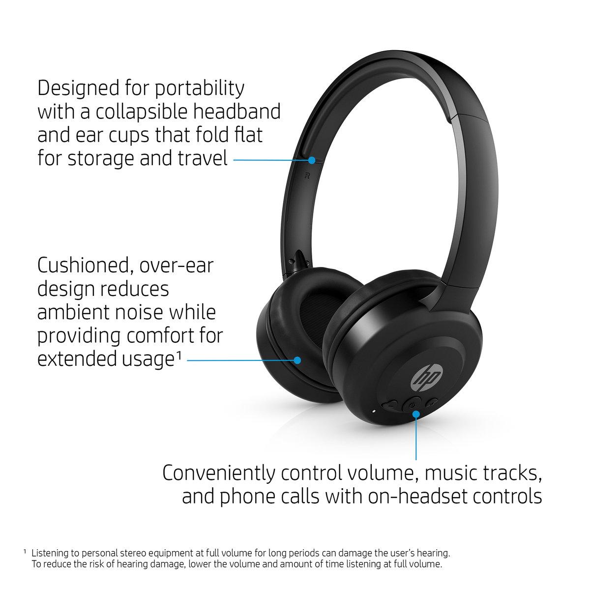 HP Pavilion Bluetooth® Headset 600 HP