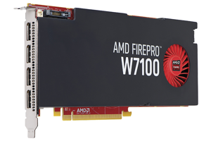 AMD FirePro W7100 8GB Graphics Card