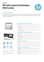 HP Color LaserJet Enterprise M553 series (Valid for WE MEMA & Israel)