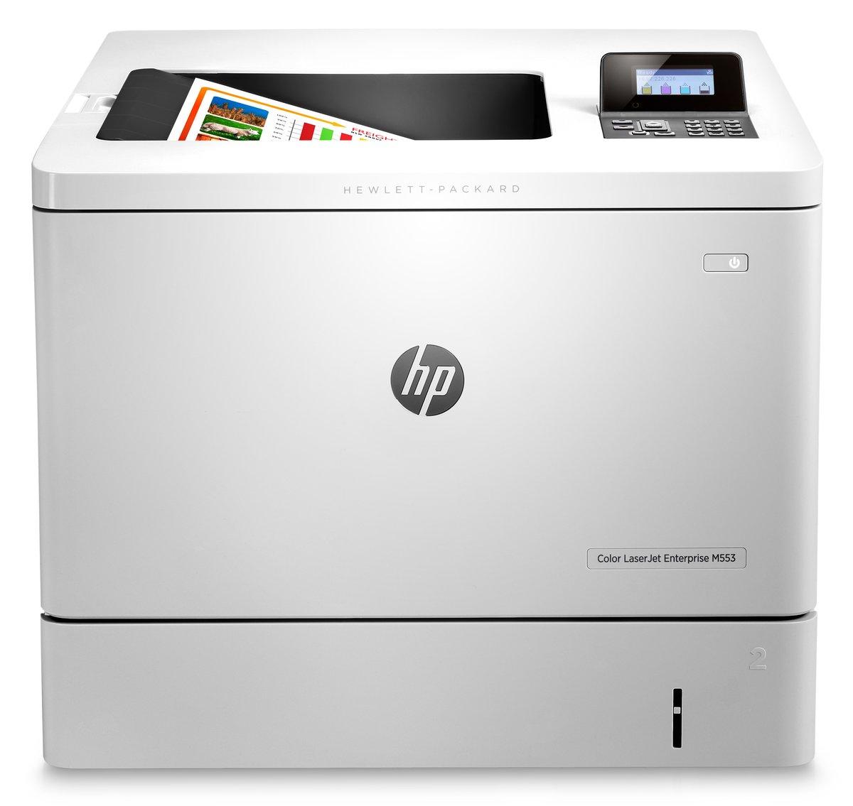 hp laserjet m553dn laser printer color 1200 x 1200 dpi print plain
