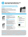 HP Color LaserJet Enterprise M855 Printer series