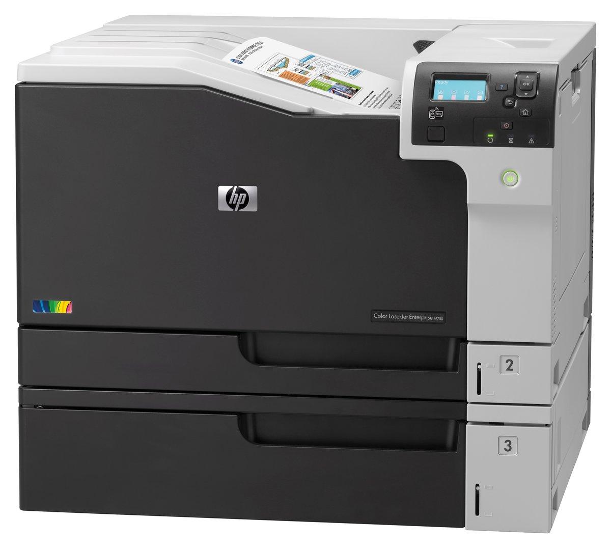 hp laserjet m750dn color laser printer by office depot u0026 officemax