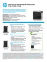 HP Color LaserJet Enterprise M750 Printer series