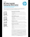 Datasheet for HP Color LaserJet Enterprise M553 series (Madrid) (English)